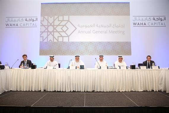 Waha Capital AGM approves cash dividend of 20 percent
